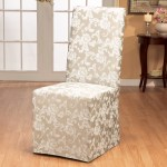 Sure Fit Scroll Classic Box Cushion Dining Chair Slipcover Reviews Wayfair