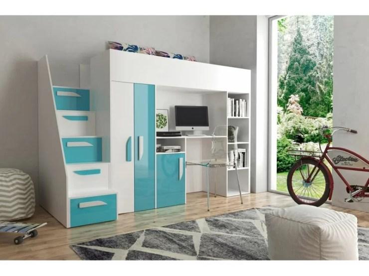 Hochbett Mit Schreibtisch Und Kleiderschrank 2021