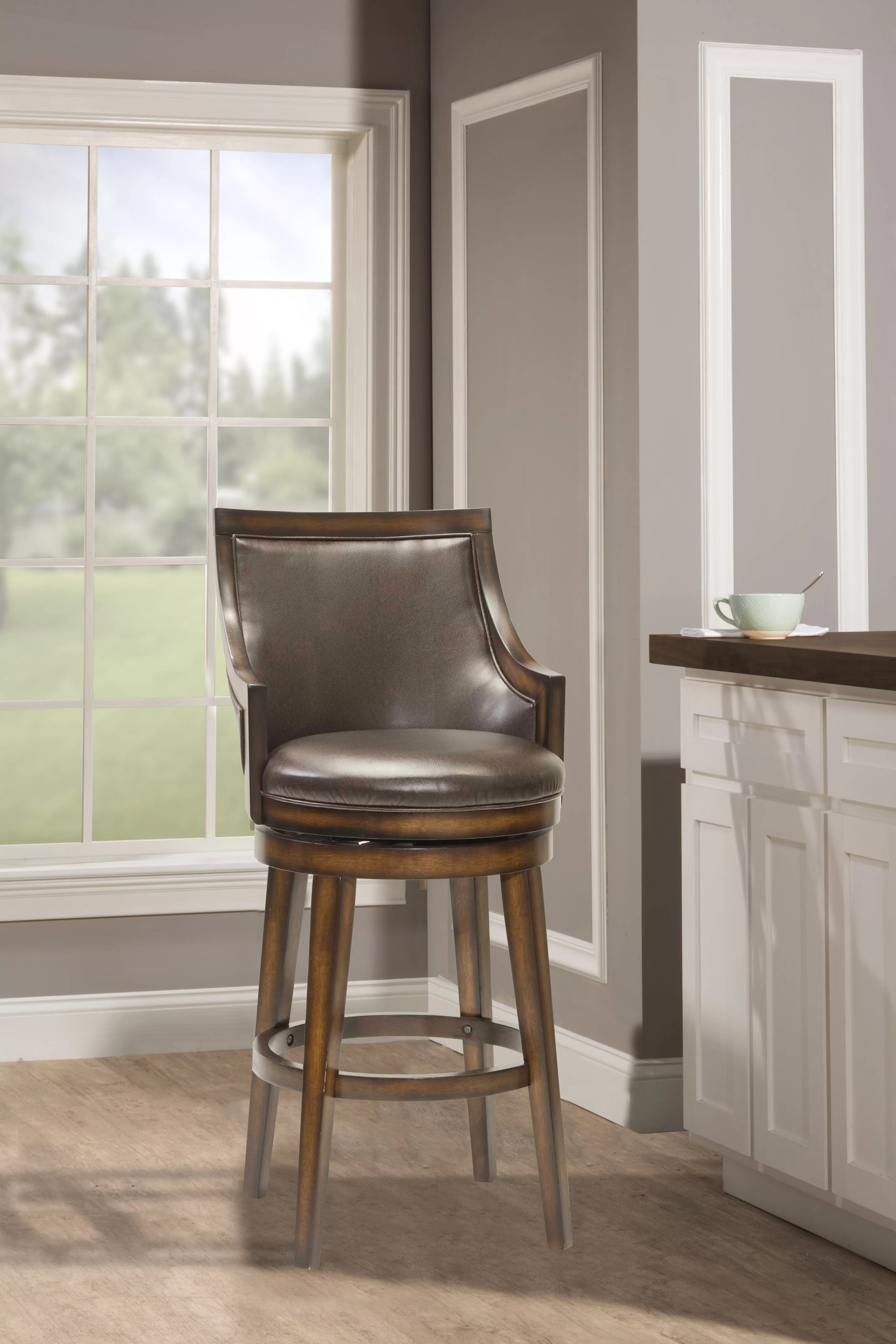 Millwood Pines Norval Bar Counter Swivel Stool Reviews