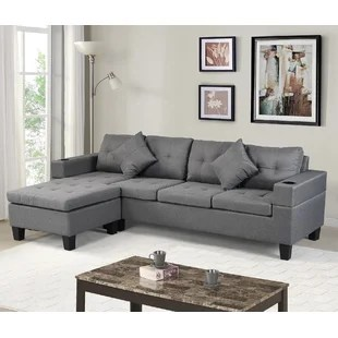 cadence lee 98 reversible sofa chaise