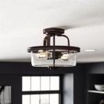 2 Light Bronze Semi Flush Mount Ceiling Light Fixture Pendant Lamp Elegant Decor Lamps Home Garden Worldenergy Ae