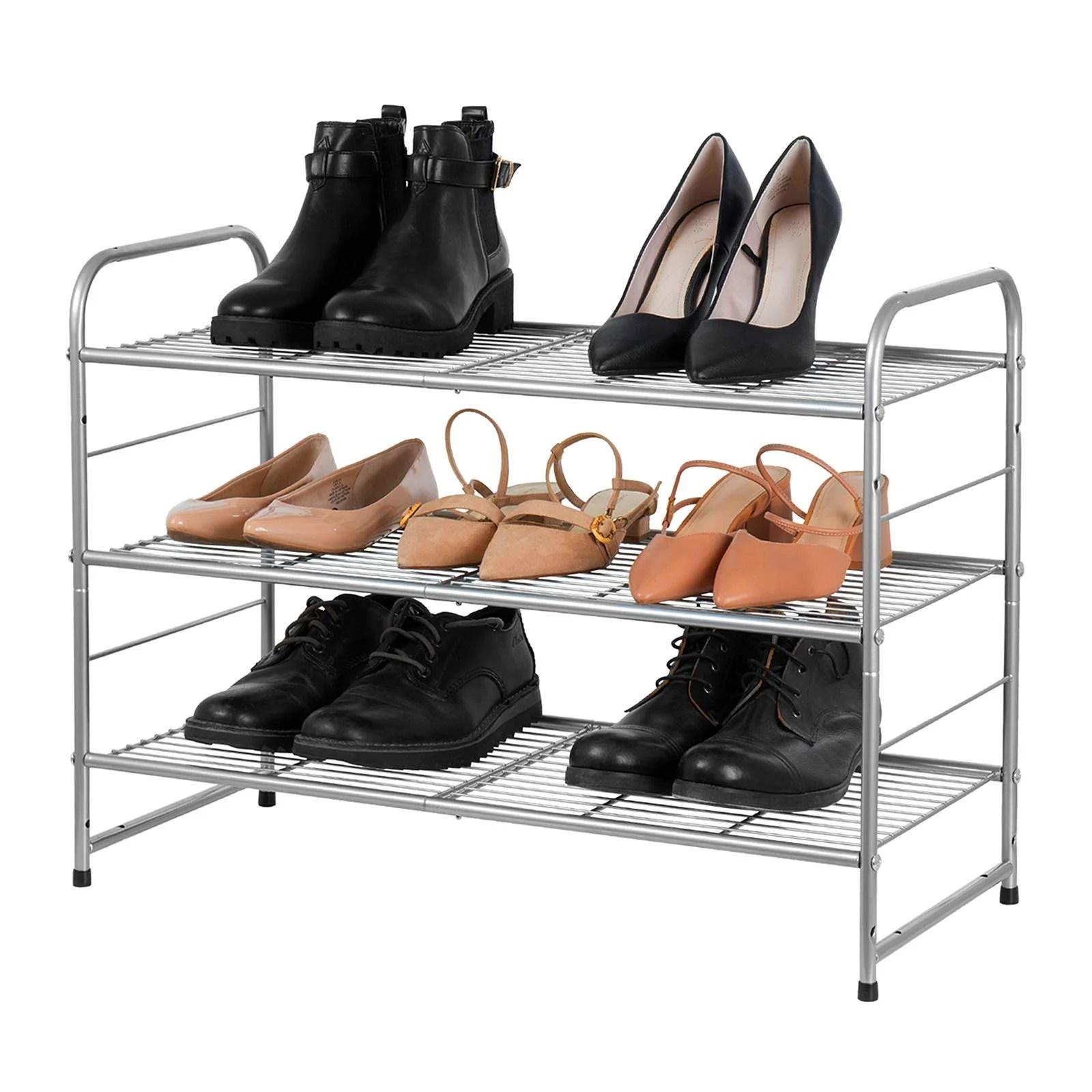 tout le stockage de chaussures