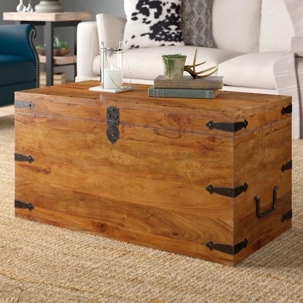 trunk chest coffee table