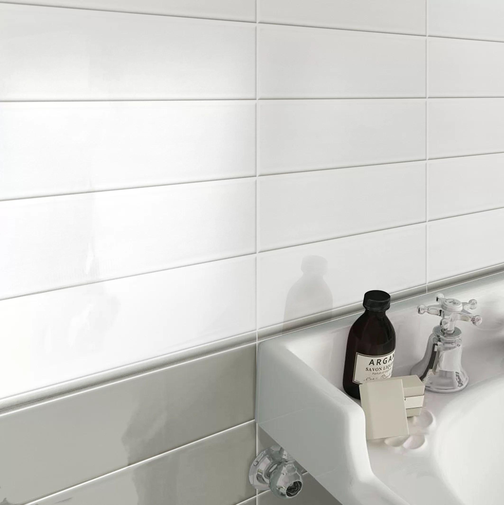 hudson 12 x 0 5 glossy ceramic quarter round tile trim in gray glossy