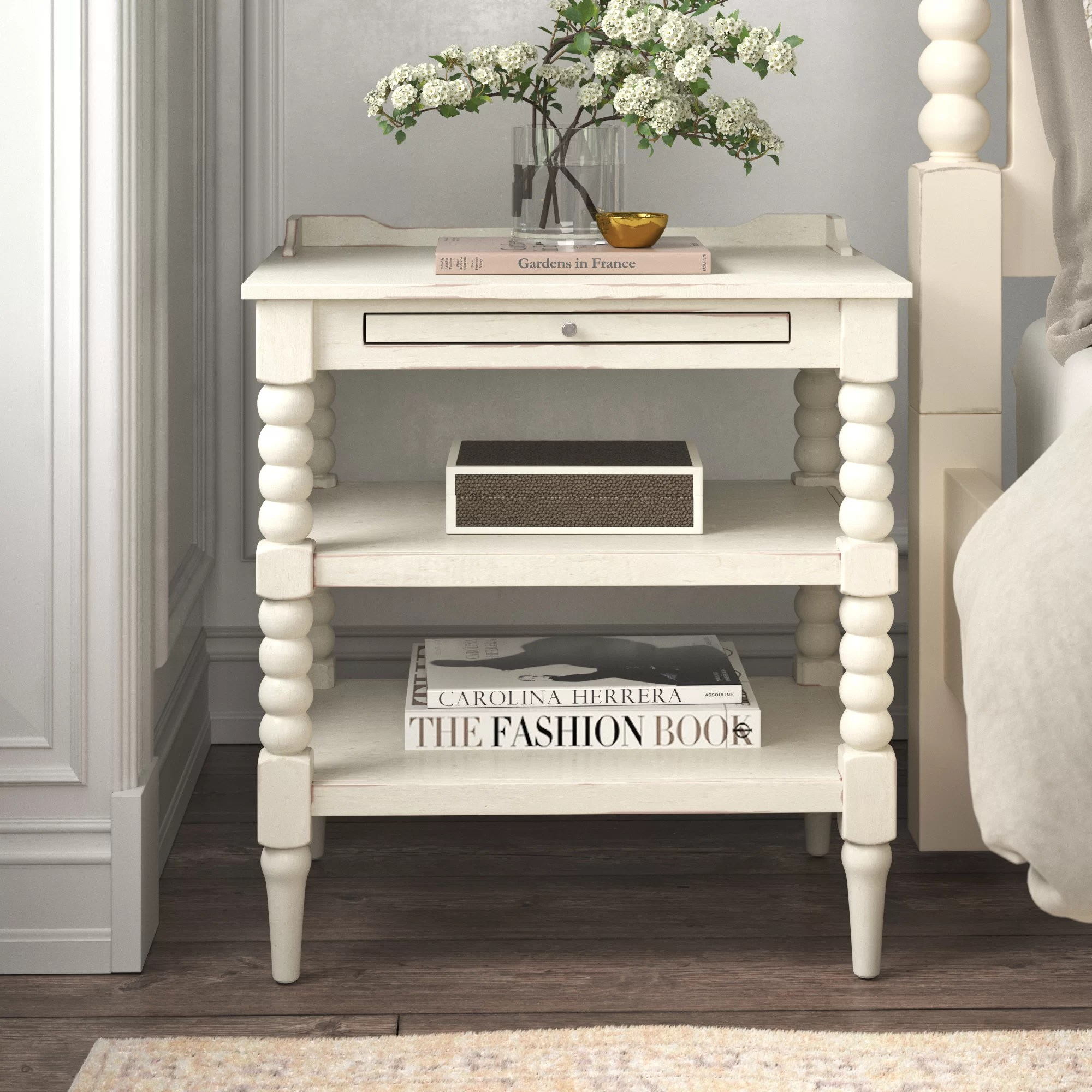 farmhouse cottage country nightstands