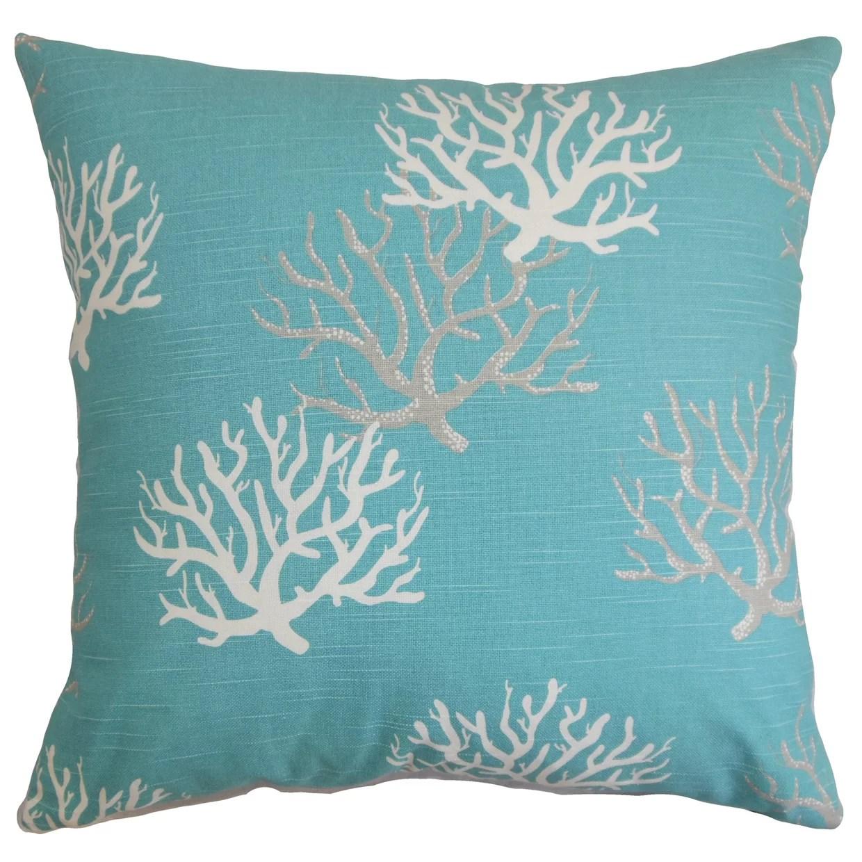 bergen coastal throw pillow cover