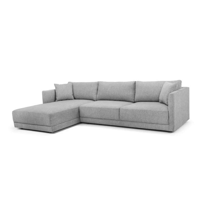 116 14 wide sofa chaise