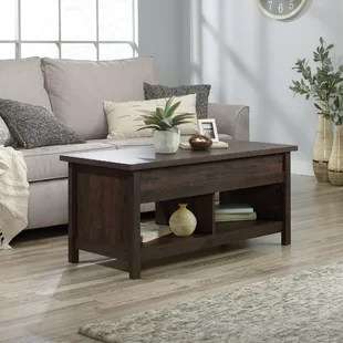 tilden lift top 4 legs coffee table with storage