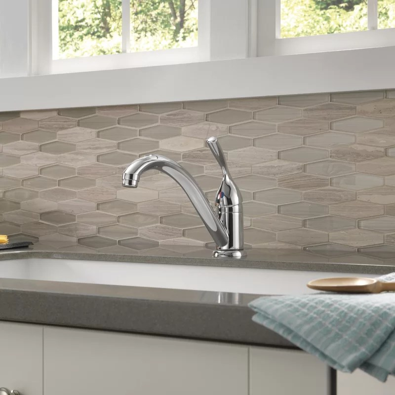 core 100 300 400 series single handle kitchen faucet with diamond seal technology