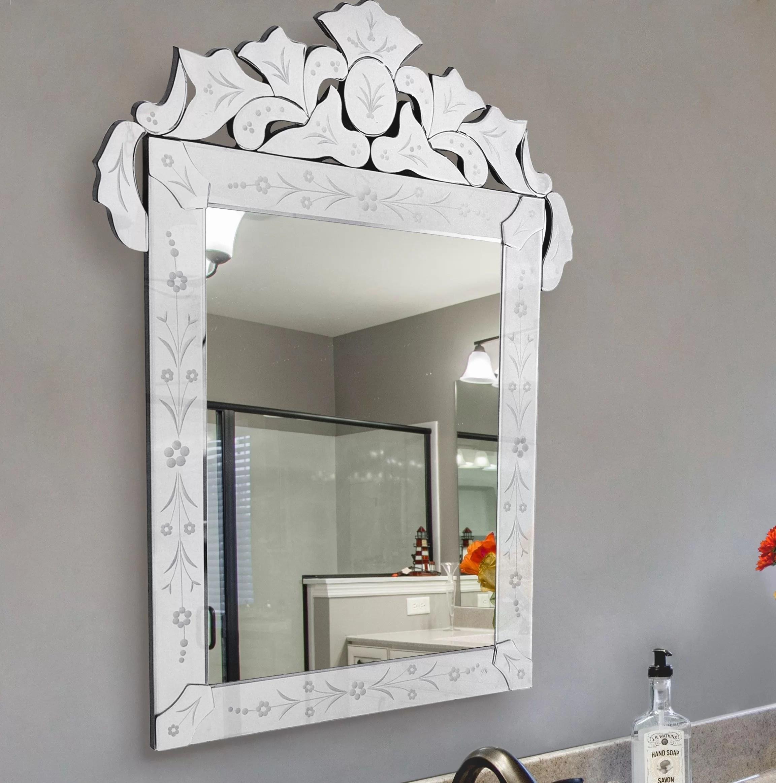 Rosdorf Park Anabel Beveled Venetian Wall Mirror Wayfair