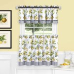 Curtains Drapes Valances Yellow Country Jacobean Floral Stripe Kitchen Curtains Tiers Or Valance Window Home Garden Mbln Org