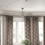Winston Porter Leavy Bay Window Single Curtain Rod Hardware Set Reviews Wayfair