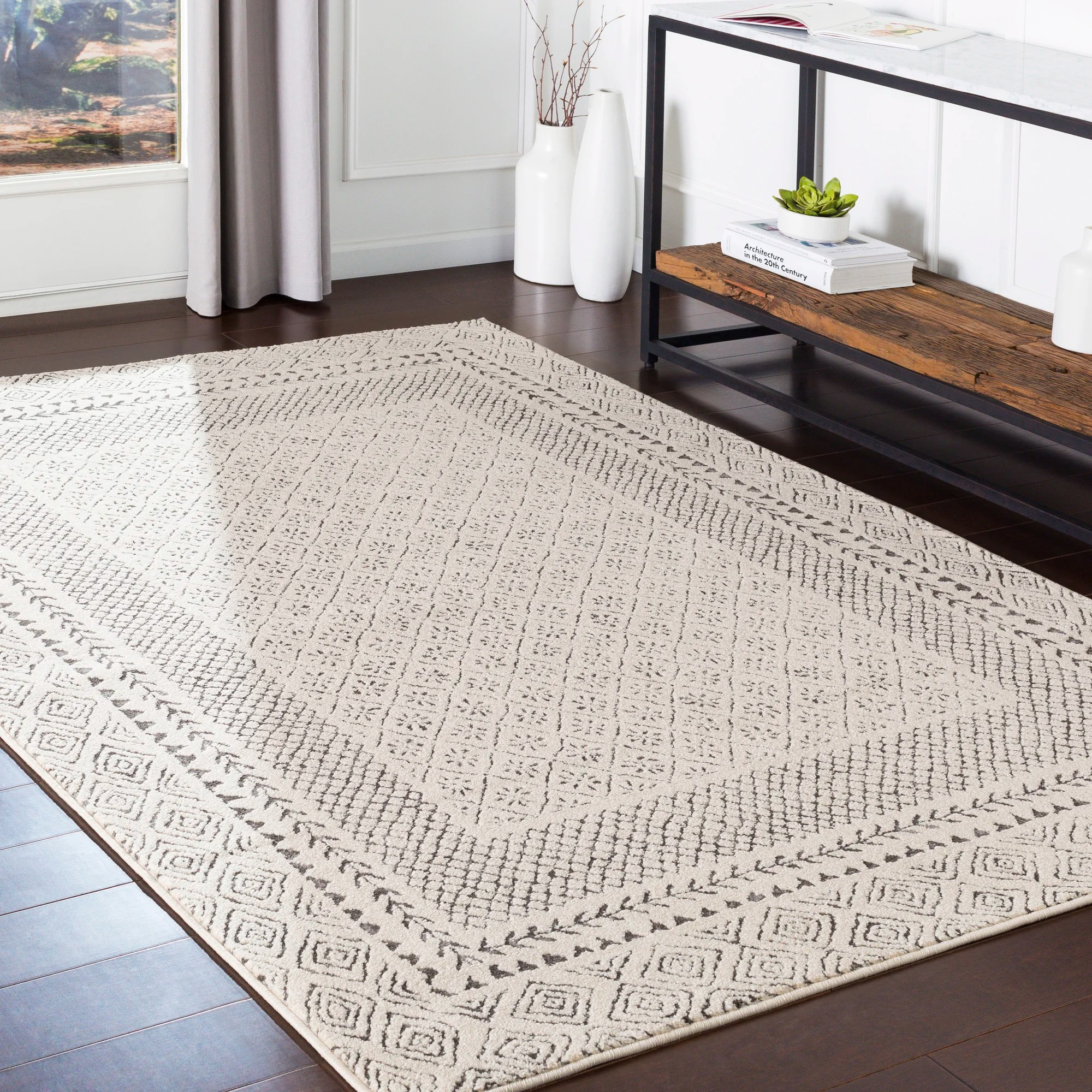 8 x 10 gray silver area rugs you ll