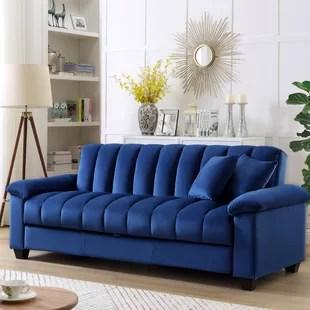 terrie 83 pillow top arms sleeper sofa
