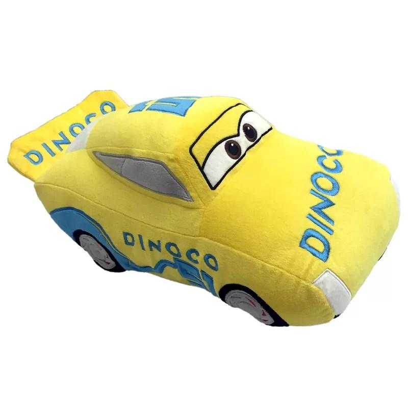 disney pixar cars movie cruz ramirez race plush throw pillow