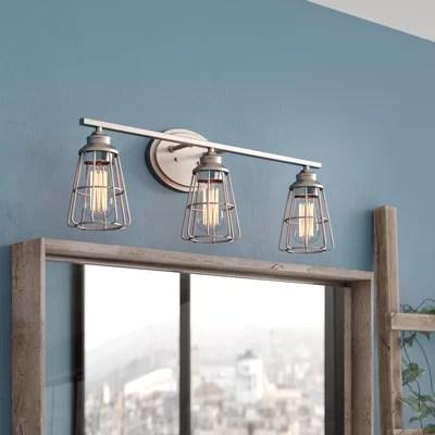 Bathroom Vanity Lighting You'll Love   Wayfair.ca on Wayfair Bathroom Sconces id=70489