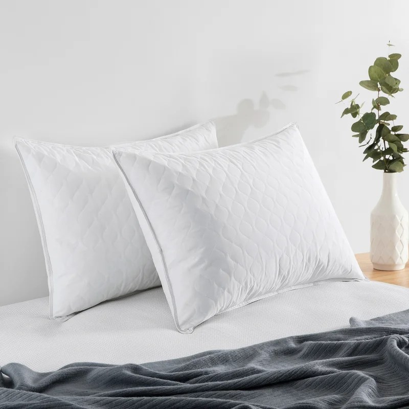firm down blend feather support pillow