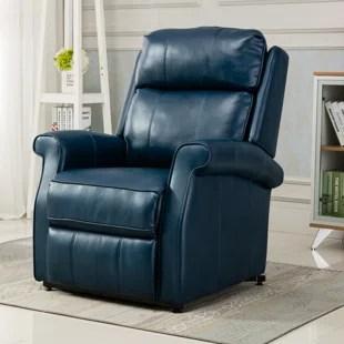nojus faux leather power lift assist recliner