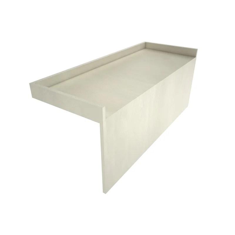 redi bench shower base