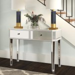 Mirrored Console Tables Up To 60 Off Through 12 26 Wayfair