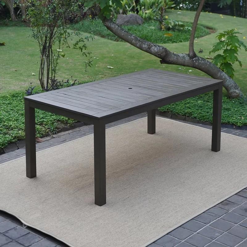 ebern designs wirksworth solid wood dining table reviews on solid wood dining table id=84587