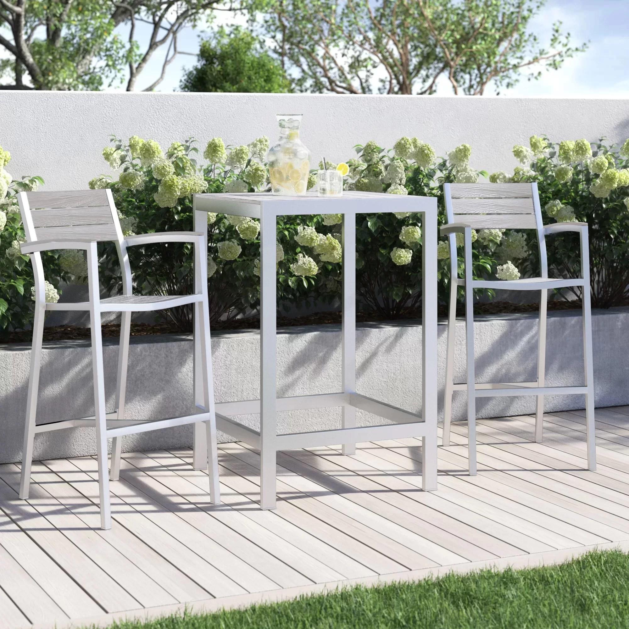 bar height patio sets wayfair