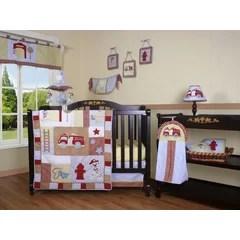 fire truck crib bedding wayfair