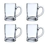 Winston Porter Charents 13 Oz Glass Beer Mug Wayfair