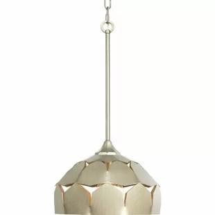 1 light single dome pendant