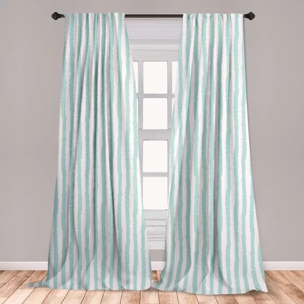 aqua curtains