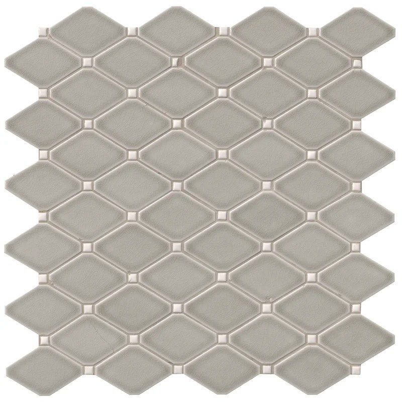 highland park diamond 12 x 13 ceramic mosaic tile