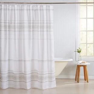 fanshawe 13 piece striped shower curtain set hooks