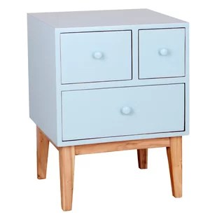 Zooey End Table With Storage