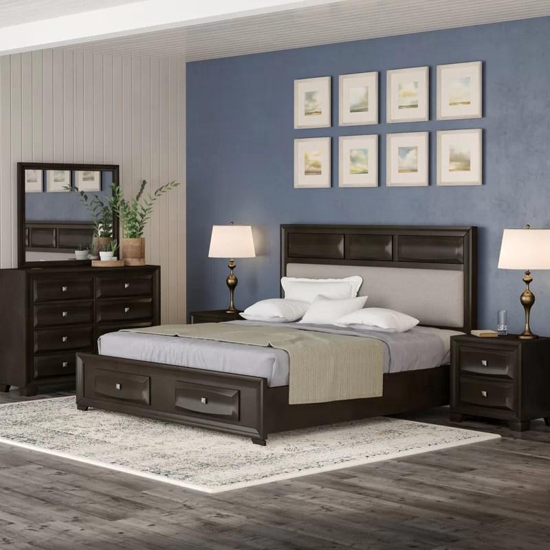 beagan platform 4 piece bedroom set