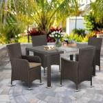 Wrought Studio Torrey Balcony 5 Piece Dining Set With Cushions Wayfair