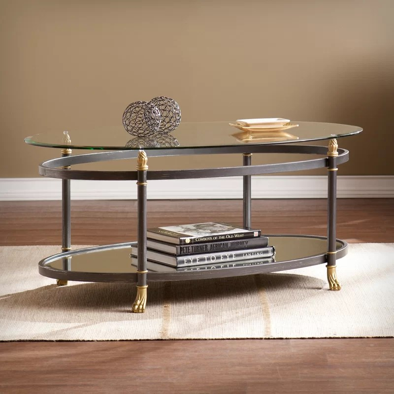 Janise Coffee Table with Storage