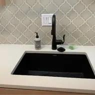 precis 27 l x 18 w undermount kitchen sink