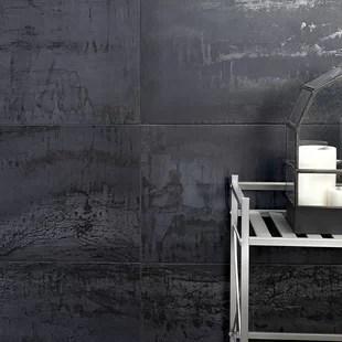 angela harris 12 x 24 porcelain metal look wall floor tile