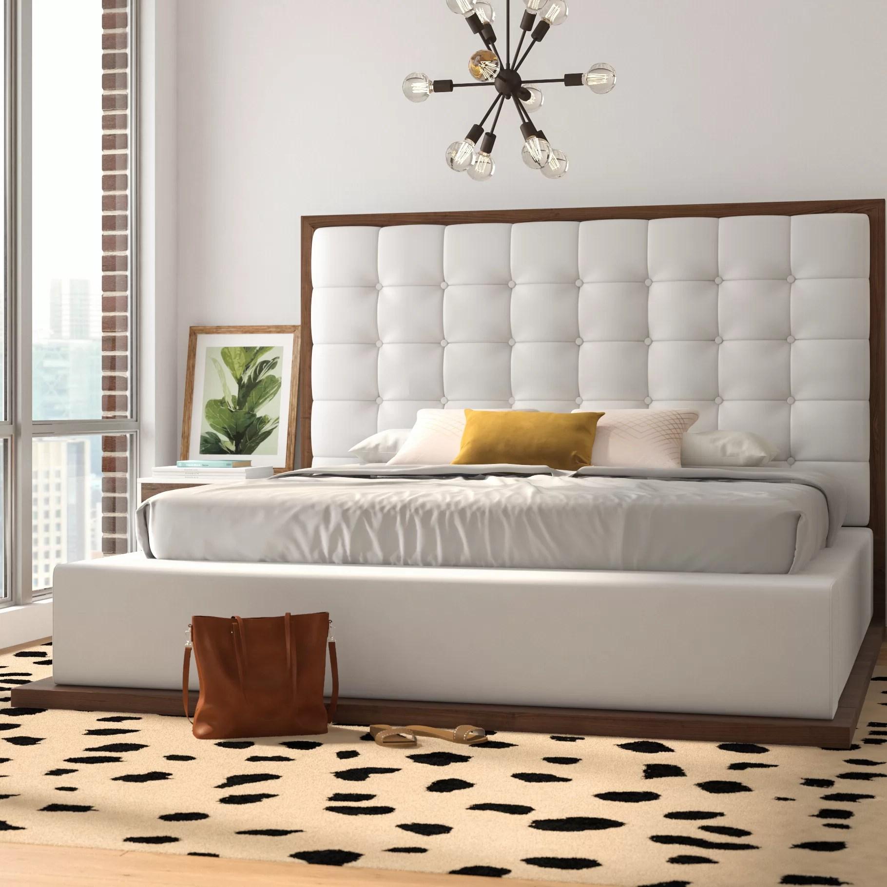 Denton Upholstered Platform Bed Reviews