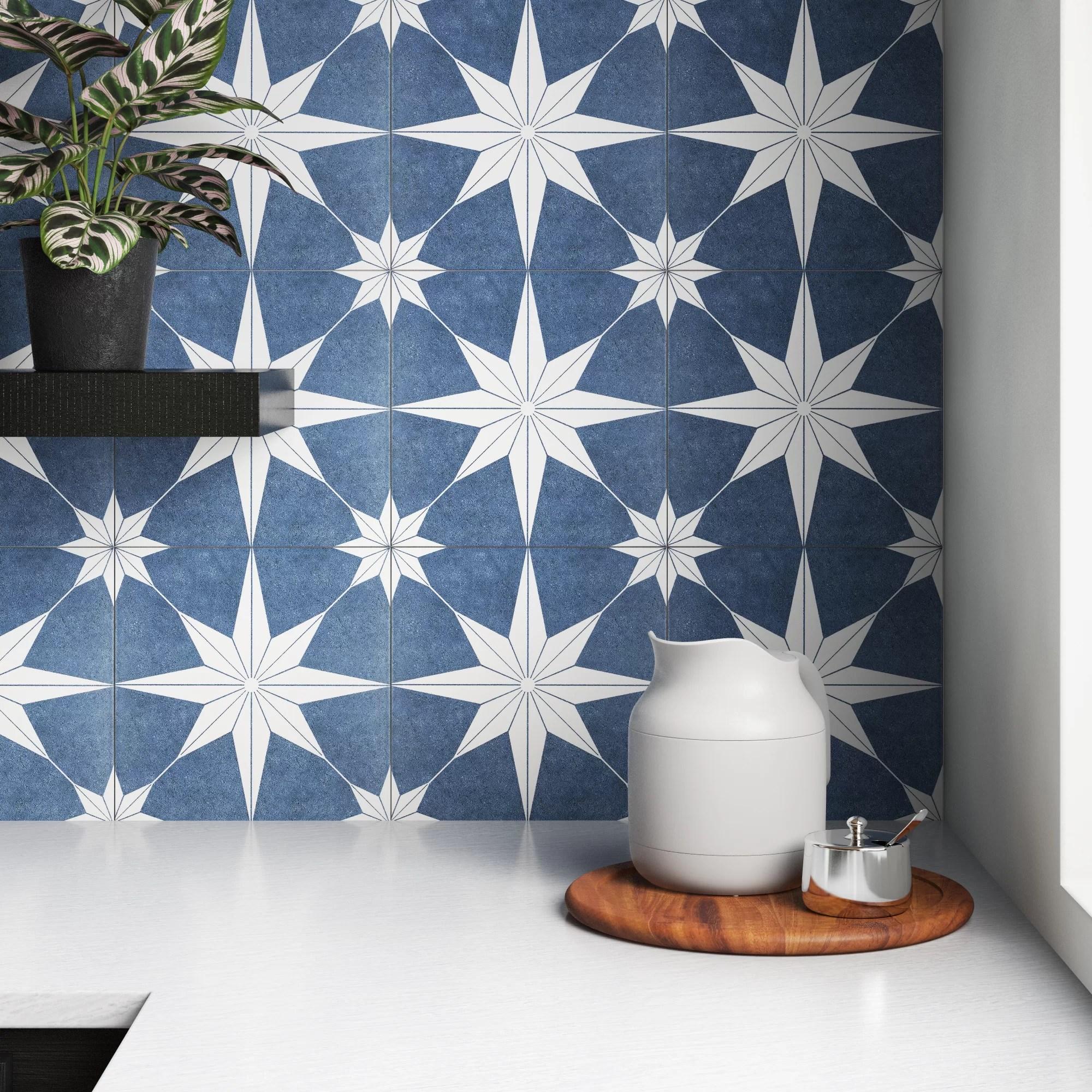 brewster 10 x 10 porcelain field tile