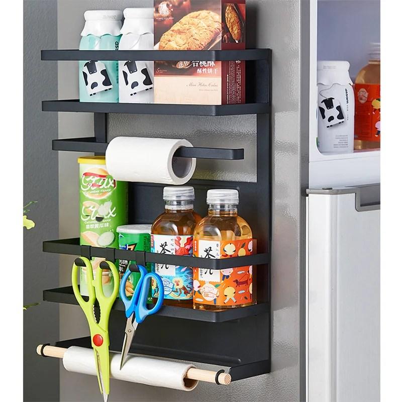 fridge 3 jar spice rack