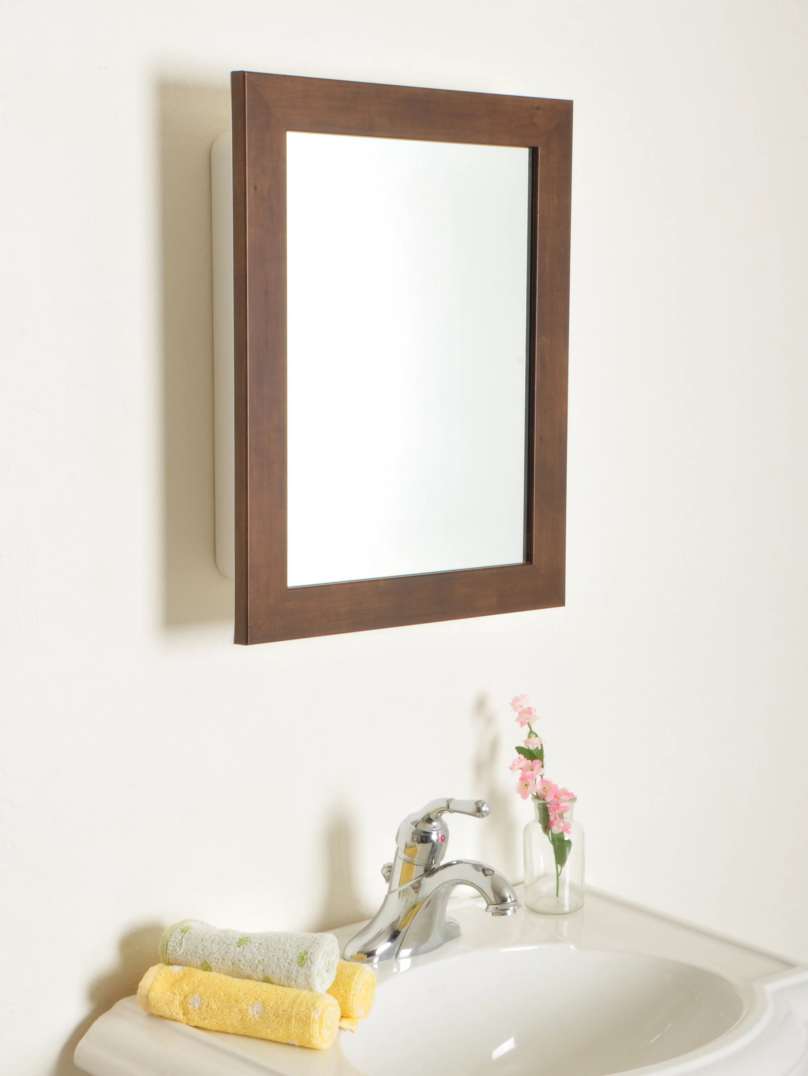 Latitude Run Raif Recessed Framed 1 Door Medicine Cabinet Wayfair