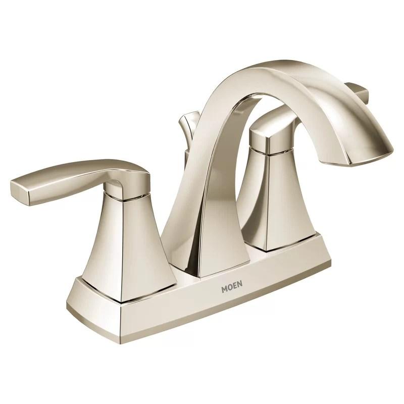 voss 2 handle high arc bathroom faucet