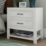 Beachcrest Home Elosie 2 Drawer Nightstand Reviews Wayfair