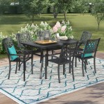 Six Person Patio Dining Sets You Ll Love In 2020 Wayfair