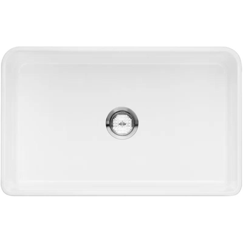 cerana 30 l x 19 w farmhouse apron kitchen sink