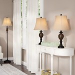 Vannessa 25 Table And Floor Lamp Set