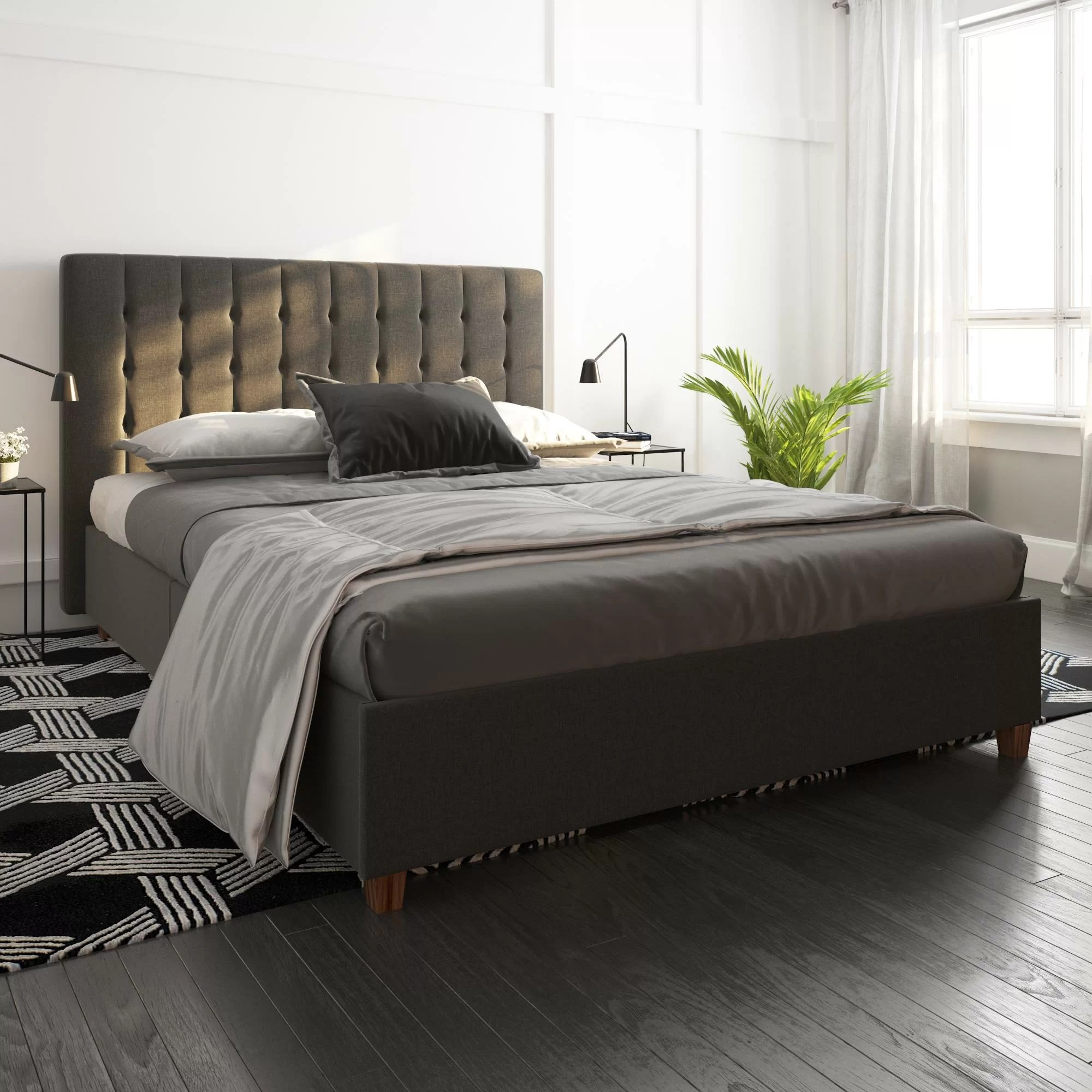 Queen Size Upholstered Beds You Ll Love In 2020 Wayfair