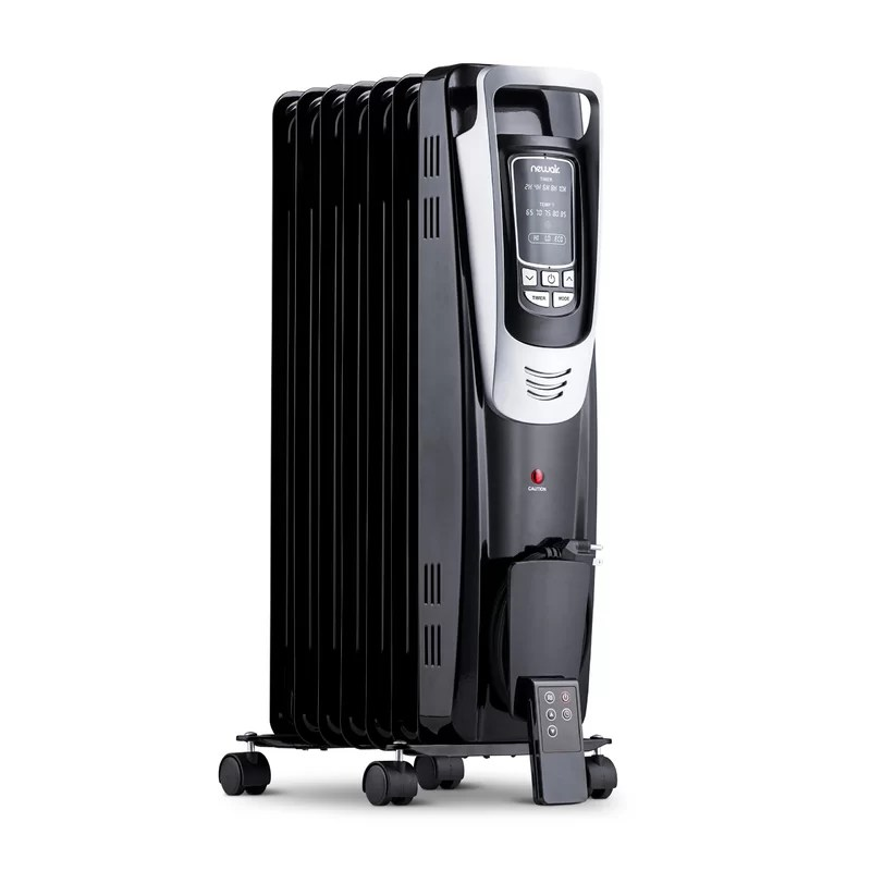 1,500 Watts Electric Convection Tower Heater