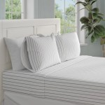 The Twillery Co Fayetteville 1500 Thread Count Striped Sheet Set Reviews Wayfair